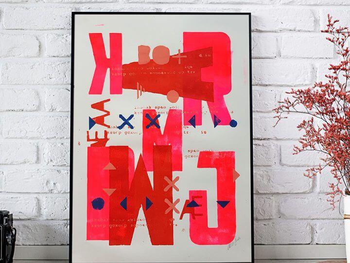 Neon Typography Serie